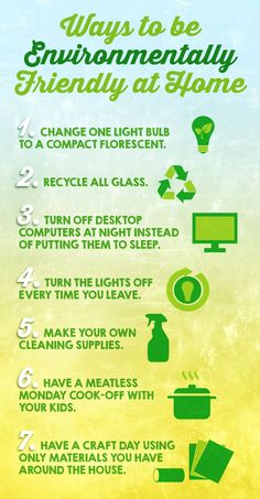 7 Ways To Be Environmentally Friendly At Home Help The Environment Energy Conservation Save