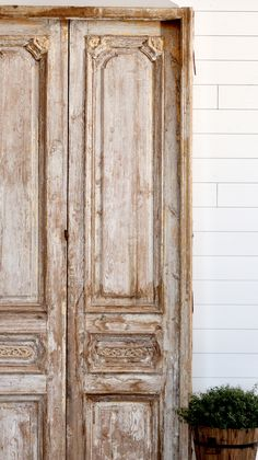 The statement doors you've been looking for. Alexandria, French Doors, 19th Century, Im Not Perfect, This Is Us, Rustic, This Or That Questions, The Originals, Vintage