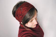 Ravelry: Amaranth Headband pattern by Adriana Hernandez
