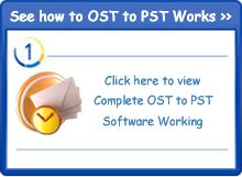 OST to PST software is fastly to repair corrupt/ damaged exchange OST file data into PST and safely make workable OST file data into PST file.