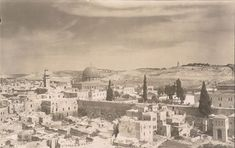 Old City Jerusalem, Temple Mount (undated, post 1910) (photo credit: © DEIAHL, Jerusalem)