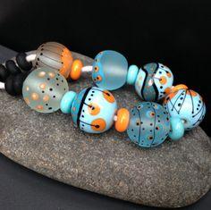 https://flic.kr/p/rycVPX | MruMru Lampwork beads | available in my etsy shop Magdalena Ruiz