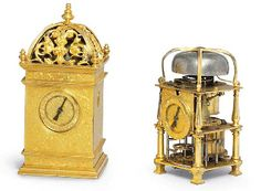 A rare french Renaissance gilt-brass striking small table clock                                                                                                                                                                       UNSIGNED. FOURTH QUARTER 16TH CENTURY