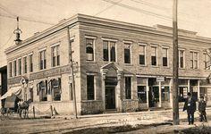 """Loveland Ntl Bk Bldg"" Loveland Ohio, Historical Photos, Cincinnati, Old Photos, Past, Street View, Island, History, Architecture"