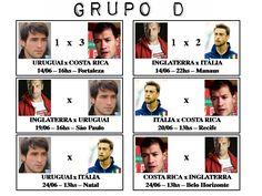 Copa do Mundo 2014 - Grupo D_01