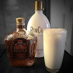 Crown Royal Maple and RumChata is life.