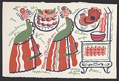 Citation: Christmas card by Peter Hunt, 19-- . Peter Hunt papers, Archives of American Art, Smithsonian Institution.