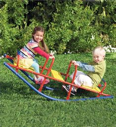 Main image for Durable Weather-Resistant Metal Rocking Seesaw