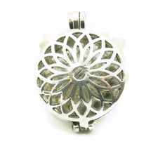 Your place to buy and sell all things handmade Prayer Box, Silver Lockets, Filigree Design, Lotus Flower, Jewelry Supplies, Antique Silver, Silver Plate, Prayers, Charmed