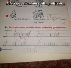 Just a little mistake…
