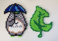 Totoro Bead Sprite with Stand by TirriveeCreations on Etsy