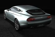 Aston Martin Virage Shooting Brake Zagato /// Zagato's Aston Martin Virage Shooting Brake is the world's sleekest hatchback