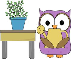 Owl Plant Helper http://www.mycutegraphics.com/graphics/school/classroom/owl-plant-helper.html My cute Graphics website has cute graphics for classrooms. Aborable!