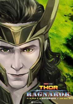 Loki by moliko.