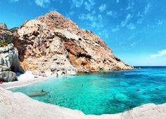 Ikaria Island, Seychelles beach - Greece - FB: The cool hunter Mykonos, Santorini, Ikaria Greece, Places To Travel, Places To See, Greece Wallpaper, Budget Friendly Honeymoons, Seychelles Beach, Costa