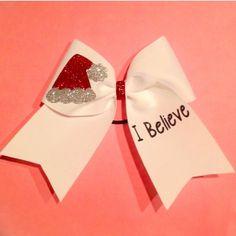 I Believe Christmas Cheer Bow