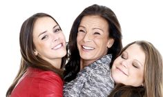 Princess Stephanie of Monaco with her daughters Pauline & Camille