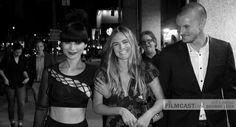 Bai Ling, Nathalie Love, Nathan Keyes and director Jefery Levy arriving to the premiere of THE KEY at the Hollywood Film Festival.