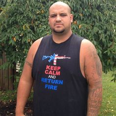 Marine Vet Told to Leave Six Flags in NJ Due to Patriotic T-Shirt 8-15-14 Mario Alejandro, 33, veteran of 2003 Iraq invasion was stopped by security guard when he and family tried to enter six flags great adventure in jackson township Nj b/c his black shirt bore a drawing of an M26 military rifle in red, white blue