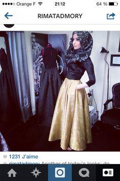 #RimaTadmory beautiful #skirt!