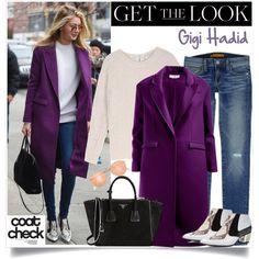 No 244:Get the Look: Cool Coats-Gigi Hadid by lovepastel on Polyvore featuring moda, Rebecca Minkoff, Rodarte, Prada, J.Crew, Sandro and coolcoat