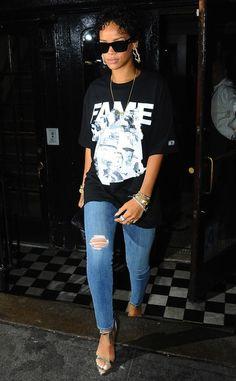Best Dressed: Rihanna (August 2013)