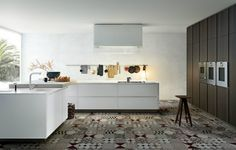 Oh, my god, #floors KITCHENS - @VARENNA | Matrix EN #tile