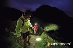 Hiking with the rechargeable headlamps. Outdoor Pictures, Hiking, Trekking