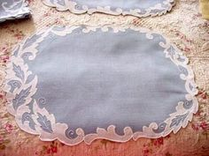 Madeira Placemats or Doilies
