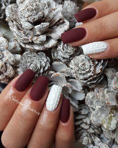 """– Sulyán Beatrix❤ (@sulyan.beatrix.nails) Instagram-hozzászólása: """"#nails #mattenails #beautynails #nailtrend #winternails #nailofinstagram #mywork #naillove"""""""