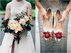 Flower shoes.