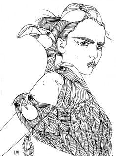 Liselotte Watkins Fashion Illustration