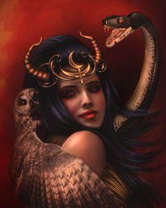Lilith by Donatella Drago