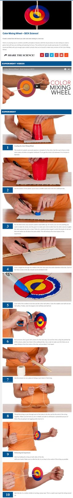Here's an amazing way to combine scientific principles of physics with the…