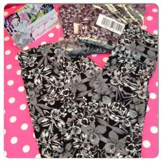 New Victoria 039 s Secret Trend Leggings Stretch Tights Pants Yoga Daily Floral L | eBay