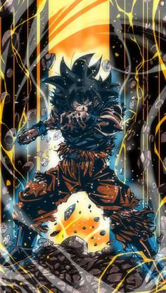 Dragon Ball Gt, Dragon Z, Dragon Ball Image, Dbz Wallpapers, Cool Anime Wallpapers, Foto Do Goku, Art Anime, Character Art, Son Goku