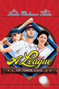 A League of Their Own, starring Tom Hanks, Geena Davis, Madonna Named one of the Top 5 Best Baseball Movies See Movie, Movie List, Movie Tv, Old Movies, Great Movies, Awesome Movies, Popular Movies, Cinema Paradisio, Vintage Movies
