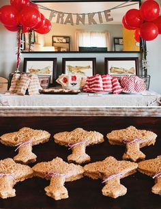 Vintage Airplane Birthday Party. PERFECT PERFECT PERFECT! Matches Ash's nursery exactly too