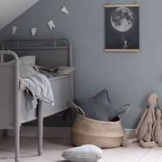 So much dreaminess for this nordic nursery by 💭 the large belly basket is a wonderful addition in any playspace or nursery for the little ones. We have a limited number left for our large size, so hop online if you are after one for yourself. Childrens Room, Scandi Bedroom, Industrial Bedroom, Casa Patio, Deco Kids, Kids Room Design, Design Bedroom, Nursery Inspiration, Kid Spaces