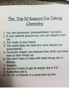 Okay, fair enough, except for six. I'm a bio major and love the dead stuff!
