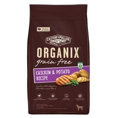 Castor & Pollux Organix Grain-free Chicken & Potato Recipe Adult Dry Dog Food (5x4 Lb)