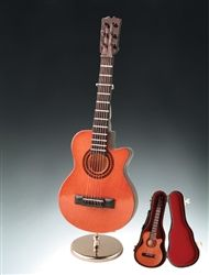 """7"""" Brown String Guitar w/Cut Away #hiddentreasuresdecorandmore"""