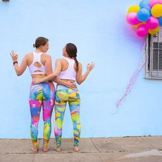 Life is all about finding others who are your kind of crazy! Who makes your life awesome?  #inyowear #inyowatercolor #wanderlust #friendship #aColorStory #yoga #yogalove #yogaleggings #yogapants #yogaeverydamnday