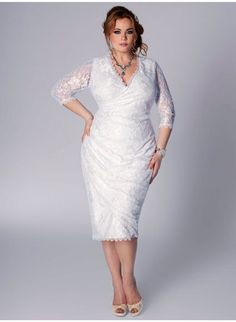 Opções de vestidos de noiva plus size [Foto]