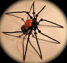 Halloween Spider - Made by Andrea Ziebarth