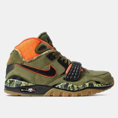 buy popular f1157 df95d Nike Air Trainer SC II PRM QS Shoes - Faded Olive