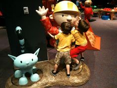 Bob the builder at the science center