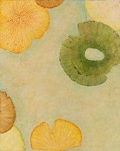 iamjapanese:    Lynn Basa(American) Lotus Lake 4 2010 Acrylic on Panel