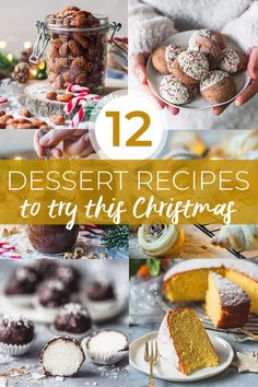 Here's your ultimate Christmas baking list with 12 Dessert Recipes to try this Christmas including cookies cakes granola edible gifts roasted nuts and more! New Year's Desserts, Christmas Desserts Easy, Cute Desserts, Christmas Baking, Holiday Recipes, Christmas Holiday, Dessert Recipes, Christmas Treats, Desert Recipes