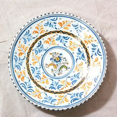 Spanish Majolica Charger from Seaver & McLellan Antiques for $85 on Square Market